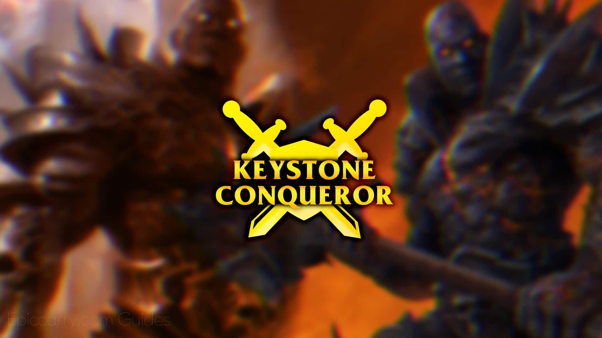 Wow Keystone Conqueror — Ways To Get