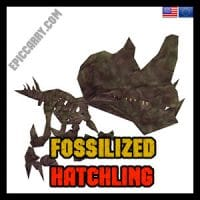 Fossilized Hatchling