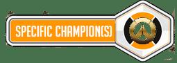 Specific Champion